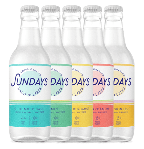 Mixed Pack of Sundays Hard Seltzer