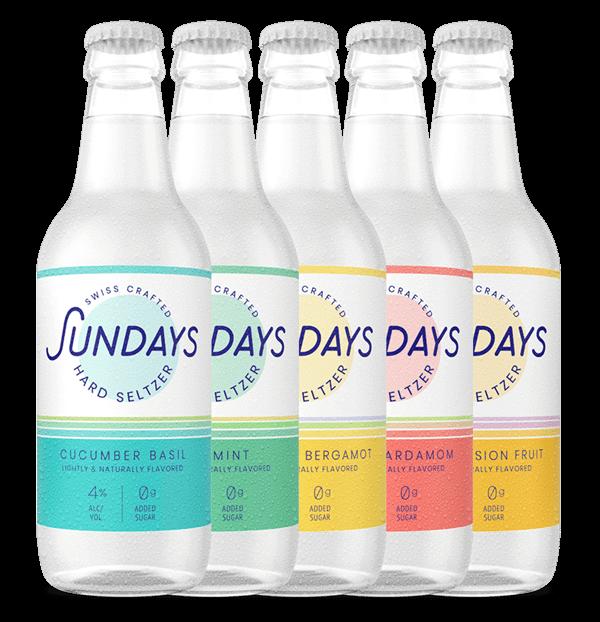 Mixed Pack of Sundays Hard Seltzer