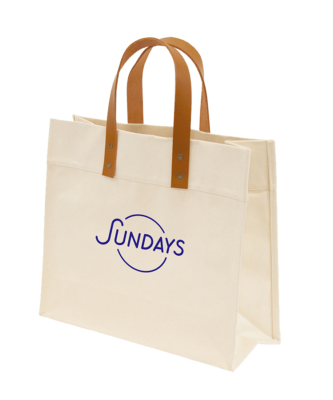 Front View of a Tote Bag