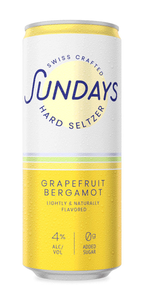 Grapefruit-Bergamot Hard Seltzer Can