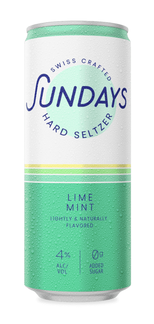 Lime-Mint Hard Seltzer Can