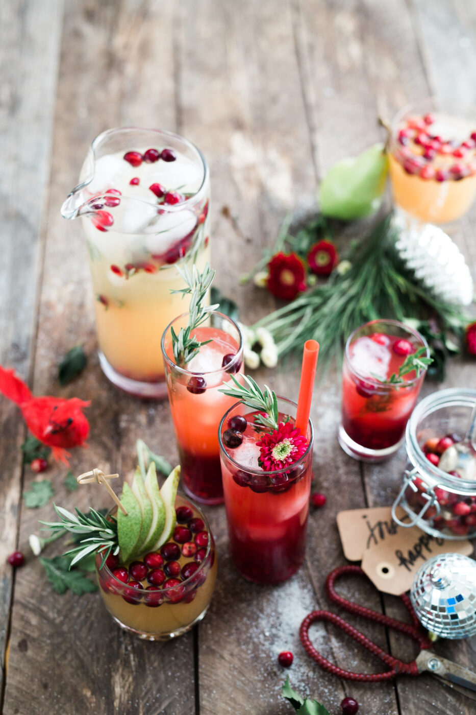 Low Sugar Christmas Drink