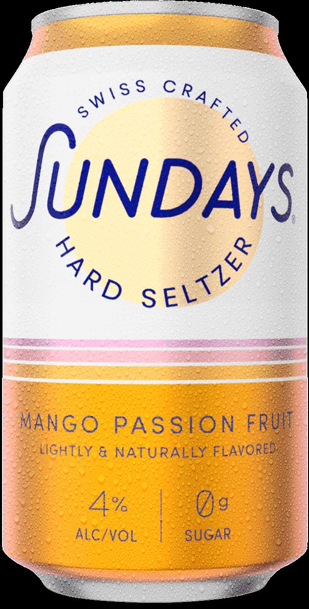Hard Seltzer Mangue Fruit de la Passion